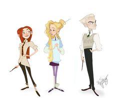 Ginny, Luna, Draco -- Brittany Myers