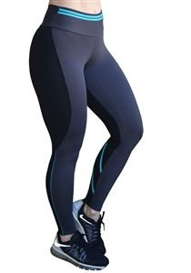 aba02350118 CAJUBRASIL 6234 Sexy Leggings Brazilian Line Gray Black