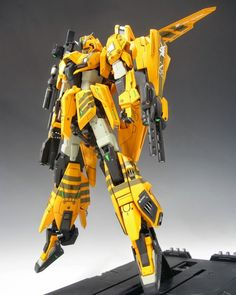 "Custom Build: MG 1/100 Zeta Gundam ""Buster Zeta Conversion"" - Gundam Kits Collection News and Reviews"