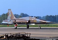 of 315 Squadron. 1991 to Venezuela - Photo taken at Enschede - Twenthe (ENS / EHTW) in Netherlands on October Air Fighter, Fighter Jets, Royal Dutch, War Jet, Canadian Army, Tiger Ii, Freedom Fighters, Aircraft Pictures, Fighter Aircraft