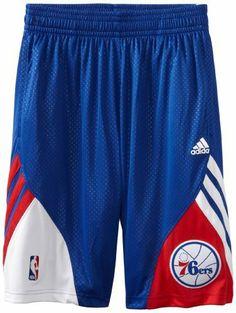 b2174b03f Philadelphia 76Ers Adidas 2012-2013 Authentic On-Court Pre-Game Short -  Royal