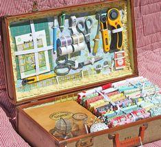 Рукодельный чемоданчик - Ярмарка Мастеров - ручная работа, handmade