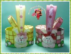 Cesta pick nick embalagem páscoa Diy, Easter Crafts, Diy And Crafts, Educational Games, Jars, Candy, Jelly Beans, Easter Bunny, Bunnies