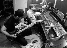 Mallory Knox w studio - tworzą :D Mallory Knox, Music Instruments, Guitar, Studio, Studios, Guitars, Musical Instruments, Studying