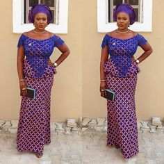 Creative Ankara Skirt and Blouse http://www.dezangozone.com/2016/03/creative-ankara-skirt-and-blouse.html