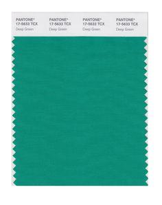 PANTONE SMART 17-5641X Color Swatch Card, Emerald  BuyNowOrNever.com
