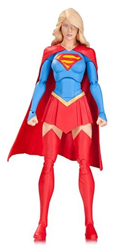 DC Collectibles Icons Supergirl Action Figure: Supergirl battles for Justice in the skies over National city with four sets of hands, a heat-vision head and hover base. Superman Action Figure, Dc Comics Action Figures, Dc Comics Characters, Supergirl, Batgirl, Phantom Zone, Dc Icons, Most Beautiful Faces, Cool Costumes