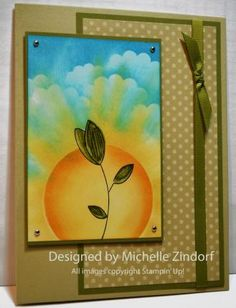 Sunny Sprout – Stampin' Up! Card Tutorial #593 |