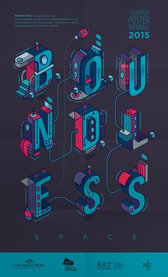 Boundless Space Typography | Abduzeedo Design Inspiration #typography #design