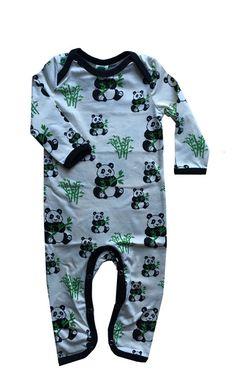 Smafolk panda bodysuit