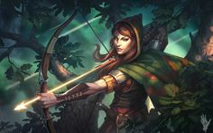 Archer by AlexShatohin female elf ranger rogue | Create your own roleplaying game books w/ RPG Bard: www.rpgbard.com | Dungeons and Dragons Pathfinder RPG Warhammer 40k Fantasy Star Wars Exalted World of Darkness Dragon Age 13th Age Iron Kingdoms Fate Core Savage Worlds Shadowrun Call of Cthulhu Basic Role Playing Traveller Battletech The One Ring d20 Modern DND ADND PFRPG W40K WFRP COC BRP DCC TOR VTM GURPS science fiction sci-fi horror art creature monster character design
