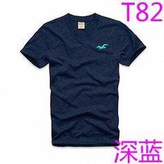 New Abercrombie & Fitch T3 Hollister HCO Vneck Summer Men LOGO T-shirt