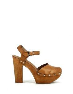 BUYLEVARD | Wooden heels #CLOGS
