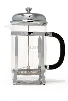La Cafetiere Classic 12-Cup French Press Coffee Timeless, the-áLa Cafetiere Classic 12-Cup French Press Coffee Maker in chrome will make the perfect cup of coffee without any fuss.-á -á La Cafeti ¿re, the original French-press coffee maker Heat- http://www.MightGet.com/april-2017-2/la-cafetiere-classic-12-cup-french-press-coffee.asp
