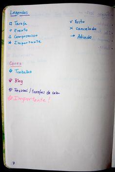 Como fazer um bullet journal - Blog Helena Mattos