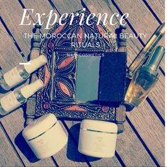 """5  Beauty Rituals of Moroccan Women 1. Natural oils are a must moisturizers to your daily beauty routine for a bright and healthy looking skin. 2. Regular trips to the hammam """"steam bath"""" aren't a luxury but a necessity to unplug and destress. 3. Deep exfoliation once a week is essential for your skin to generate new skin cells and get rid of dead ones. 4. Ghassoul clay is perfect to purge pores, soften skin, and eradicate black heads. 5. Rose water will tone and soothe your skin while…"""