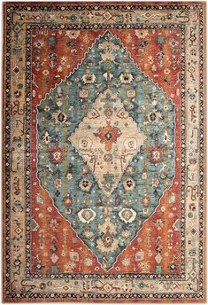 Value City Furniture, Kids Bedroom Sets, Aqua Area Rug, 8x10 Area Rugs, Old World Charm, Persian Rug, Cleveland, Home Accessories, Bohemian Rug