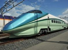East Japan Railway Toreiyu luxury trainset.