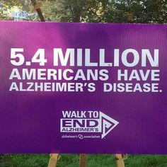 At the Walk to End Alzheimer's - @Jeffrey P