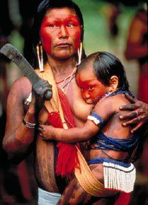 Amazonia: Kayapo, the forgotten tribe.  What an amazing picture!!!