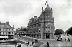 Bournemouth England, Palace Hotel, Historical Pictures, England Uk, Pavement, Vintage Photography, Old Pictures, Gloss Matte, Old Houses