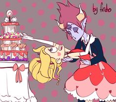 He can't get the girl, but she can get the cake :3