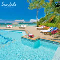 The exotic playground of choice for fun-loving pleasure seekers. #SandalsNegril | Sandals Resorts | Jamaica
