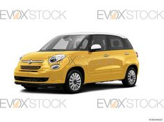 2014 Fiat 500L, yellow car, car stock photo, car picture, car photo, car image, image of cars, photo of cars, car picture