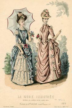 La Mode Illustrée 1888