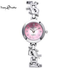 $28.98 (Buy here: https://alitems.com/g/1e8d114494ebda23ff8b16525dc3e8/?i=5&ulp=https%3A%2F%2Fwww.aliexpress.com%2Fitem%2FNew-2015-Fashion-Time-Story-Women-Anticlockwise-Watches-Dolphin-Stainless-Steel-Pretty-Ladies-Analoy-3ATM-Bracelet%2F32381989389.html ) Brand TS Fashion Glory Anti-clockwise Ladies Dress Watch Flying Dolphins Strap Quartz-Watch Women Bracelet  Wrist Watches for just $28.98