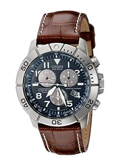 Now available Citizen Men's BL5250-02L Titanium Eco-Drive Watch with Leather Band