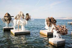 Химеры. Троцкий. Стамбул. Работы Вильяр-Рохаса на биеннале в Стамбуле