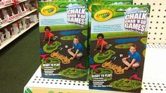 Crayola Chalk Games Crayola Chalk, Dollar Tree Finds, Ready To Play, Pop Tarts, Packaging, Games, Gaming, Wrapping, Plays