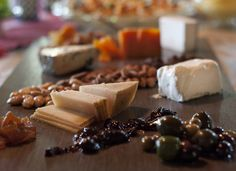 Cheese Platter at a Paella Party