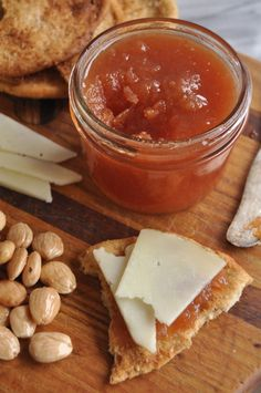 Vanilla Quince Jam  |  Quince paste + cheese = <3!                                                                                                                                                                                 More