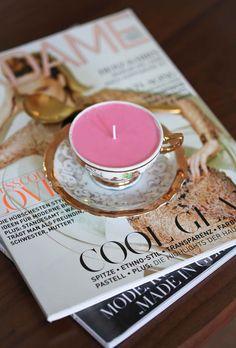 Miss Renaissance DIY Ombre Candles