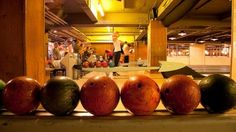 Bloomsbury Bowling Lanes The 1950s Americana-themed venue comes complete with reclaimed furniture