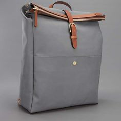 MISMO M/S Express Leather Backpack