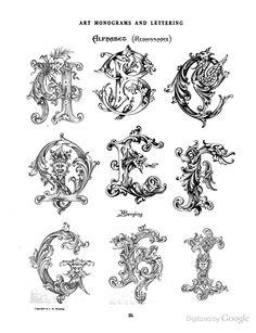 A -I Redaissance GORGEOUS monograms