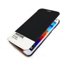 Capa Livro Samsung Galaxy S5 Pantone Universe FlipCover Preta R$75,30