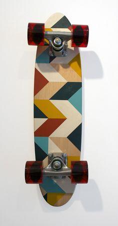 Wood Deck No. 2 by Scott Albrecht Surfboard Skateboard, Skateboard Design, Skateboard Decks, Skates, Deck Design, Wood Design, Snowboard Design, Skate Girl, Skate Decks