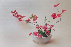 Ecole d'ikebana Ohara La Rochelle / Sud-Ouest - Hana-isho - Cours et stages d'art floral japonais (ikebana) de l'école Ohara de Tokyo
