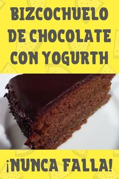 Entra a REPOSTERAS! No te puedes perder esta receta! Natural Yogurt, Pound Cake, Flan, Cakes And More, Food Dishes, Cake Recipes, Deserts, Good Food, Food And Drink