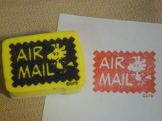 Airmail stamp 48