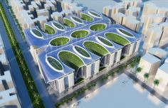 vincent callebaut architectures the gate residence cairo egypt designboom. Windcatchers, Passive geothermal cooling/heating, Solar PV cells, Solar water heating tubes, Vertical wind turbines, Rooftop gardens, Living walls, Smart home automation,
