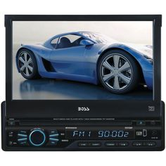 "Boss Audio 7"" Single-din In-dash Motorized Dvd And Mp3 And Cd & Am And Fm Receiver"