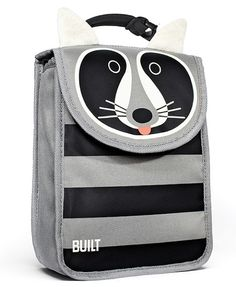 raccoon lunch sack by BUILT NY - so cute