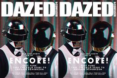 Daft Punk x Tron : Dazed cover James White, Dazed And Confused, Daft Punk, Historian, Magazines, 3d, Cover, Journals