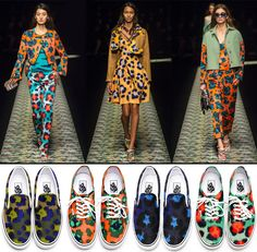 Kenzo + Vans. I want them all!!