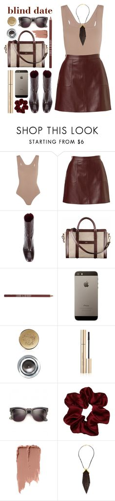 """""""be gorgeous"""" by foundlostme ❤ liked on Polyvore featuring Alaïa, E L L E R Y, A.P.C., Lord & Berry, Bobbi Brown Cosmetics, Dolce&Gabbana, Wildfox and blinddate"""